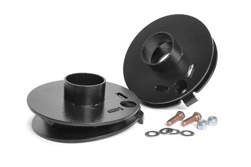 Suspension Components - Coil Spacers - Rough Country Suspension - 1141 | Jeep Rear Coil Spring Correction