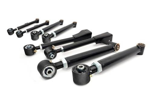TJ Wrangler - TJ Control Arms - Rough Country Suspension - 11470 | Jeep Adjustable Control Arms (Complete Set)
