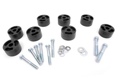 Rough Country Suspension - 1158 | Jeep 1.25 Inch Seat Risers
