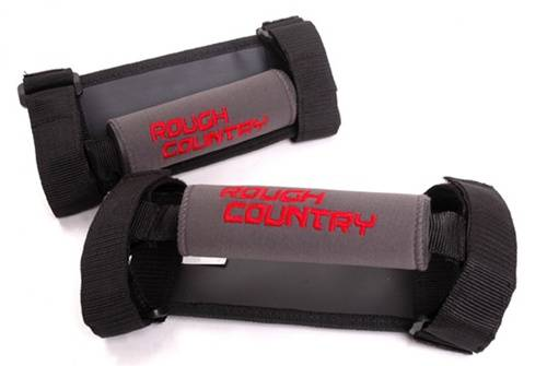 Just Jeeps - TJ Wrangler - Rough Country Suspension - 1176 | Jeep Roll Bar Grab Handles