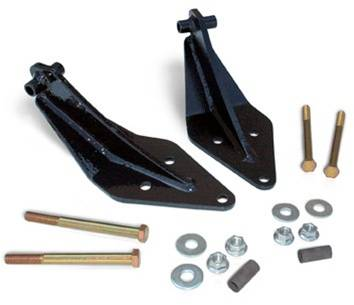 Suspension Components - Shock Extension, Relocation Kits - Rough Country Suspension - 1402 | Ford Front Dual Shock Kit