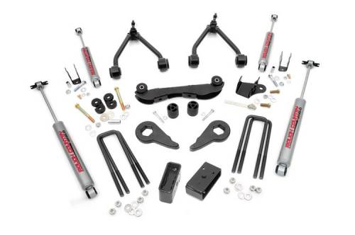 Suspension - Suspension Lift Kits - Rough Country Suspension - 165.20 | 2-3 Inch GM Suspension Lift Kit (Rear Blocks)