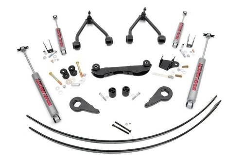 Suspension - Suspension Lift Kits - Rough Country Suspension - 170.20 | 2-3 Inch GM Suspension Lift Kit (Rear Add-a-Leafs)
