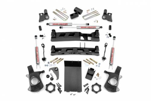 Spotlight Products - Daily Deals - Rough Country Suspension - 25820 | 4 Inch GM NTD Suspension Lift Kit
