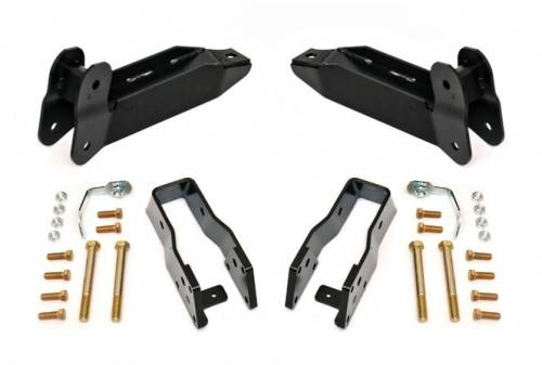 Suspension Components - Control Arms - Rough Country Suspension - 2003-2012 Dodge Ram 2500, 3500 Pickup 4wd Control Arm Drop Kit