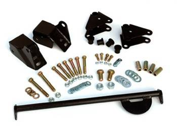 Suspension Components - Hanger Kits & Shackle Kits - Rough Country Suspension - 5060 | Jeep Shackle Reversal Kit