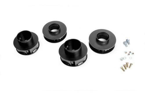 Rough Country Suspension - 695 | 2 Inch Jeep Suspension Lift Kit | No Shocks - Image 1