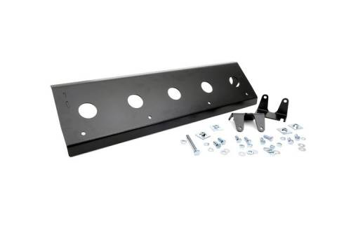 Exterior - Armor & Skid Plates - Rough Country Suspension - 776 | Jeep Front Sway Bar Skid Plate