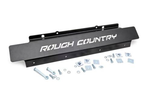 JK Wrangler - JK Armor / Skid Plates - Rough Country Suspension - 778 | Jeep Front Skid Plate