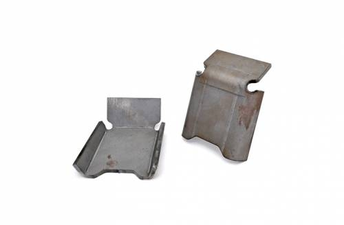 Exterior - Armor & Skid Plates - Rough Country Suspension - 792 | Jeep Front Control Arm Skid Plates