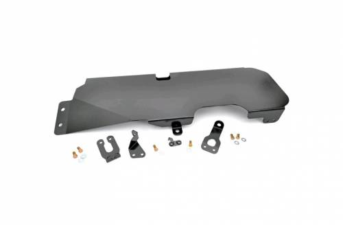 Exterior - Armor & Skid Plates - Rough Country Suspension - 794 | Jeep Gas Tank Skid Plate