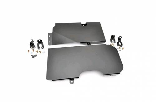 Exterior - Armor & Skid Plates - Rough Country Suspension - 795 | Jeep Gas Tank Skid Plate
