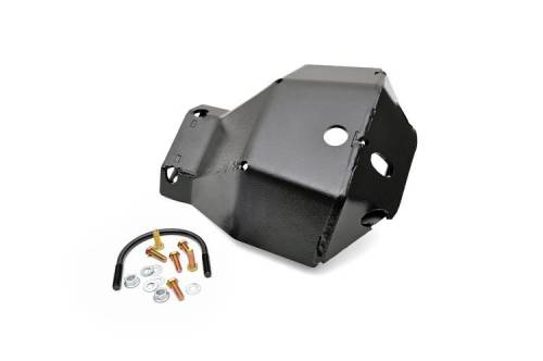 JK Wrangler - JK Armor / Skid Plates - Rough Country Suspension - 798 | Jeep Dana 44 Front Diff Skid Plate
