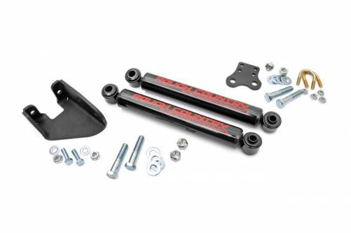 Rough Country Suspension - 87307   Jeep Dual Steering Stabilizer - Image 2