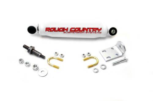 Suspension Components - Steering Stabilizers - Rough Country Suspension - Chevrolet/GMC Steering Stabilizer