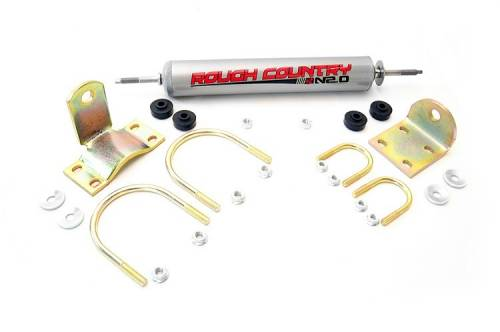 Suspension Components - Steering Stabilizers - Rough Country Suspension - Ford Steering Stabilizer