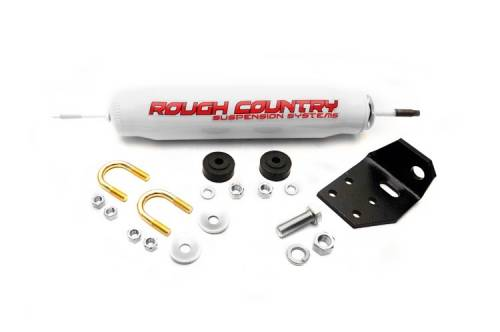 Suspension Components - Steering Stabilizers - Rough Country Suspension - Toyota Steering Stabilizer