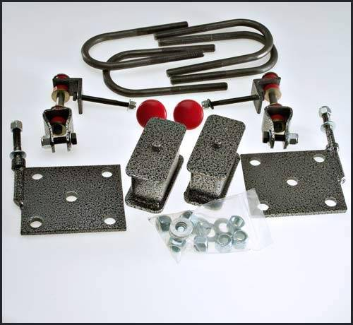 Suspension Components - Rear Install Kits - DJM Suspension - 2 Inch Rear Lowering Kit