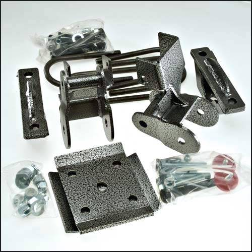 Suspension Components - Rear Install Kits - DJM Suspension - RK3209-4 | 4 Inch Rear Lowering Kit