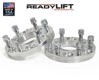Wheels - Wheel Spacers - ReadyLIFT Suspensions - 10-3485 | GM 7/8 Inch Wheel Spacers | 6 X 5.5 Bolt Pattern