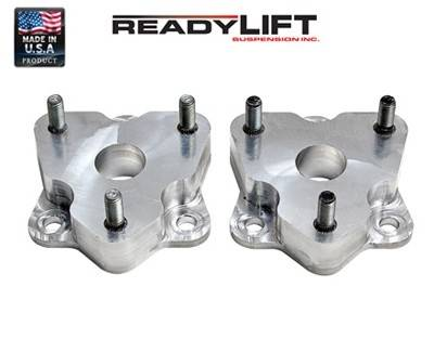 ReadyLIFT Suspensions - 66-1030 | 2 Inch Dodge Front Leveling Kit (Strut Extension)