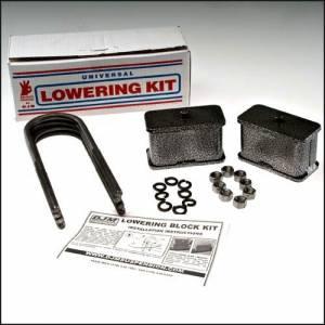 Suspension Components - Block & U Bolt Kits - DJM Suspension - 4 Inch Rear Lowering Kit