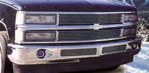 T-Rex Billet - 1994-1998 Chevrolet PU, 94-99 Suburban/Tahoe - Phantom Billet Insert - No H/Lamp Recess Needed