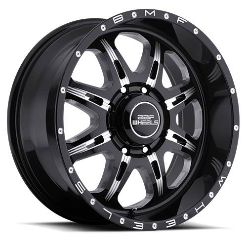 Wheels - BMF Wheels - BMF Wheels - 20X9 F.I.T.E. Death Metal 8X6.5, 0mm