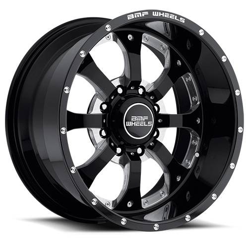 BMF Wheels - 18X9 Novakane Death Metal 8X170, 0mm