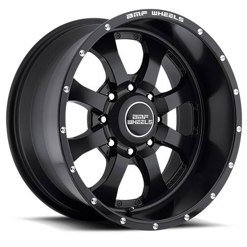 Wheels - BMF Wheels - BMF Wheels - 461SB-090817000 | 20X9 Novakane Stealth Black 8X170, 0mm