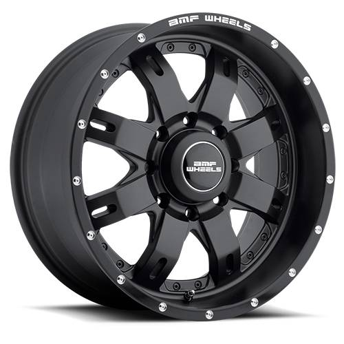 Wheels - BMF Wheels - BMF Wheels - 20X10 R.E.P.R. Stealth Black 8X6.5, -19mm