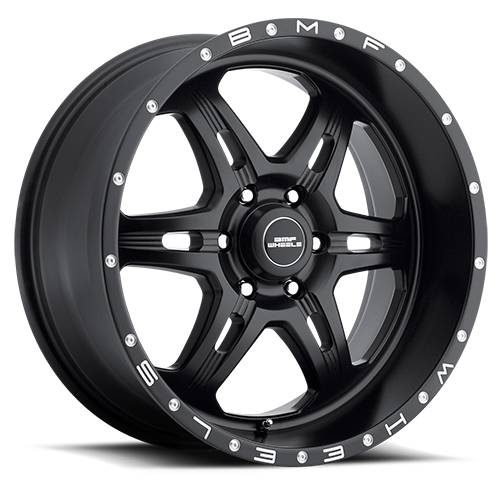 Wheels - BMF Wheels - BMF Wheels - 467SB-090613900 | 20X9 F.I.T.E. Stealth Black 6X5.5, 0mm