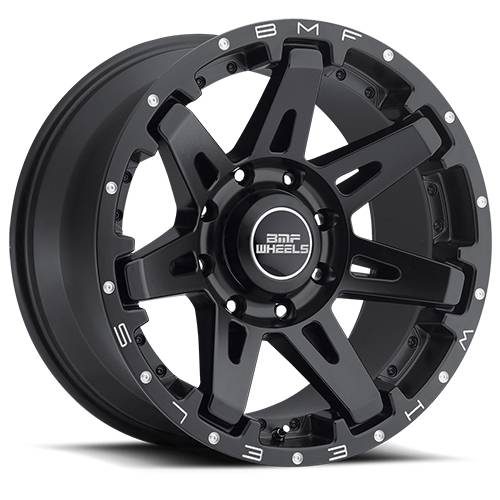 Wheels - BMF Wheels - BMF Wheels - 20X10 B.A.T.L. Stealth Black 8X6.5, -19mm