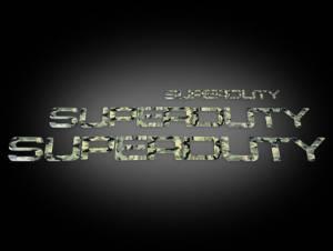 Recon Truck Accessories - 264181DC | Super Duty Raised Letter Inserts - Desert Camo - Image 2