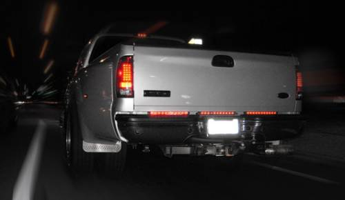 Lighting - LED Tailgate Bars - Recon Truck Accessories - 15 Inch Mini Tailgate Bar - Amber