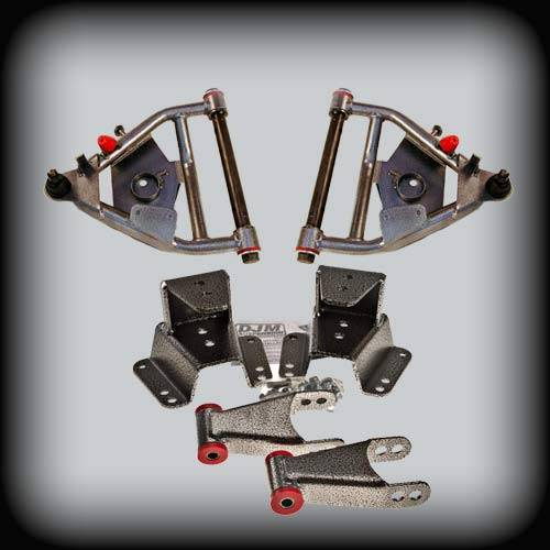 DJM Suspension - 1973-1987 Chevrolet C10, GMC C10 3/4 Lowering Kit