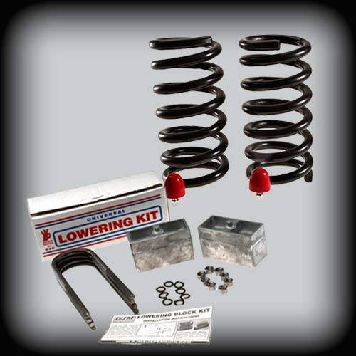 DJM Suspension - 1982-2004 Chevrolet S10 Pickup, S15 Pickup, 1982-1997 Chevrolet Blazer, GMC Jimmy 3/3 Lowering Kit