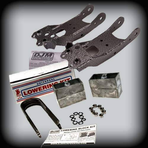 DJM Suspension - 1988-1996 Toyota Pickup 2wd 3/4 Lowering Kit