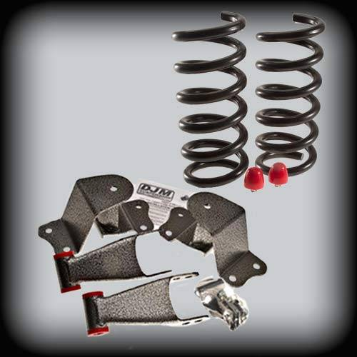 DJM Suspension - 1988-1998 Chevrolet C1500, GMC C1500 3/4 Lowering Kit