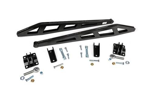 Suspension Components - Traction Bars - Rough Country Suspension - 1069 | GM Traction Bar Kit