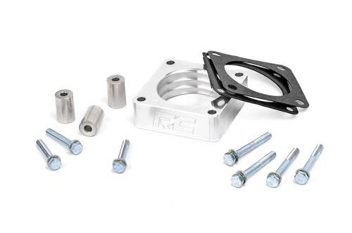 Performance - Throttle Body Spacers - Rough Country Suspension - Jeep Throttle Body Spacer