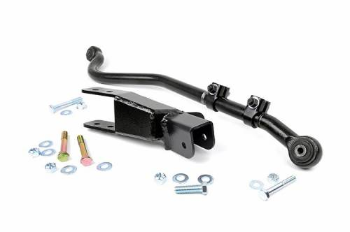Suspension Components - Track Bars & Brackets - Rough Country Suspension - 1052 | Jeep Front Forged Adjustale Track Bar (4-6 Inch)