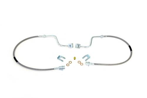 Suspension Components - Brake Lines - Rough Country Suspension - Ford F-250, F-350 Super Duty Extended Front Brake Lines