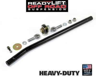 Suspension Components - Track Bars & Brackets - Ready Lift Suspension - 2005-2013 Ford F-250, F-350, F-450, F-550 Super Duty 4wd Anti Wobble Track Bar - 0-4 Inch Lift