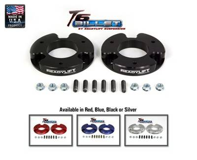 Ready Lift Suspension - 2004-2015 Nissan Titan 2/4wd 1.5 Inch T6 Billet Leveling Kit - Black