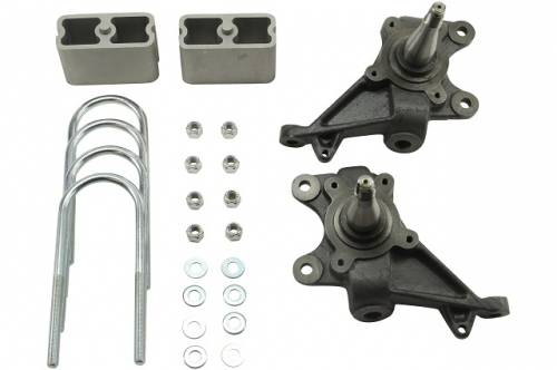 Belltech Suspension - 1982-2004 Chevrolet S10/S15 Std Cab, 1983-1997 Blazer/Jimmy  2/2 Drop without Shocks