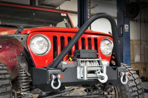 Vehicle Specific Products - Rough Country Suspension - 1013 | Jeep Stinger Bar (RC Bumpers)