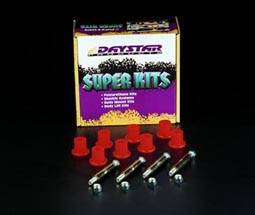 Suspension Components - Hanger Kits & Shackle Kits - Daystar Suspension - Jeep CJ Greaseable Bolt Kit Front or Rear