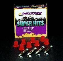 Suspension Components - Hanger Kits & Shackle Kits - Daystar Suspension - Jeep XJ/MJ 84-01 Greaseable Bolt Kit Rear