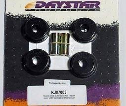 Replacement Parts - Control Arm Bushings - Daystar Suspension - KJ03006BK | Jeep Front Control Arm Bushings
